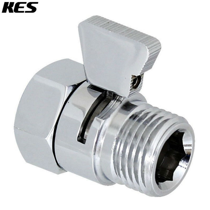 Aliexpress.com : Buy KES K1140B3 Shower Head Shut Off Valve Brass With  Metal Handle, Polished Chrome From Reliable Brass Valve Suppliers On KES  Home (US) ...