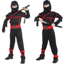 Free Shipping Ninja Kids Costumes for Boys Carnival Halloween Christmas Masquerade font b Naruto b font
