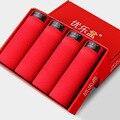 4pcs/lot Men Underwear Boxers Solid RED Men's Boxer Modal Mens Boxer Shorts L-XXXL Wholesale K028