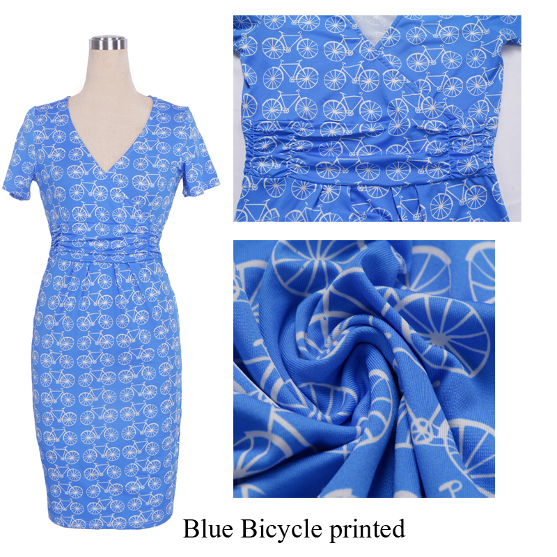 Blue Bicycle printed 1