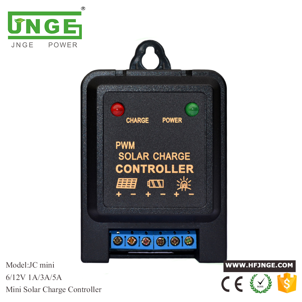 Intelligent 3A 5A 6V 12V Mini Solar Panel Light Controller Charge Controller for li ion/Lead Acid Battery Use 3a 6v 12v mini solar charge and discharge controller waterproof load working 24 hours