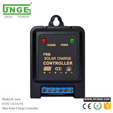 Intelligent 3A 5A 6V 12V Mini Solar Panel Light Controller Charge Controller for li ion/Lead Acid Battery Use(China)