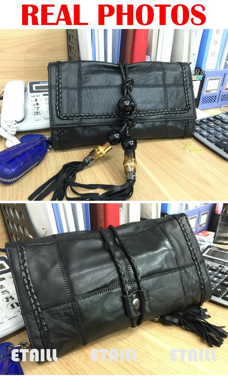 designer brand tassel clutches