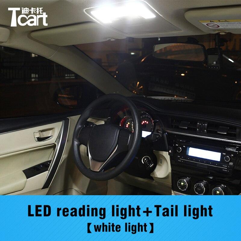 Tcart error free car led interior bulbs front reading - 2015 toyota corolla interior lights ...