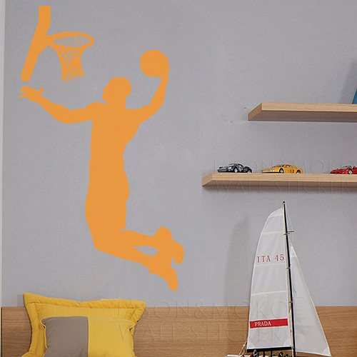 Michael jordan cool basketball basketball sport wall for Man u bedroom accessories