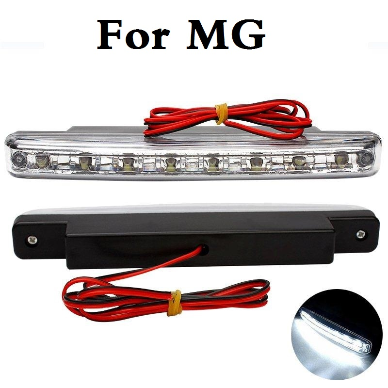 New 2017 Vehicle Car style <font><b>8LED</b></font> Daytime Driving Running Light DRL Fog Lamp For MG 3 350 5 550 6 <font><b>GS</b></font> TF Xpower SV ZR ZS ZT image