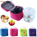 New Fashion Casual Lunch Bag Bolsa Thermal Bag Small Portable Insulated Cooler Picnic Lunch Carry Bag lunch box Jan-6