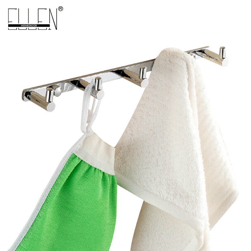 free shipping robe hooks bathroom wall mounted brass decorative wall hooks h10014china