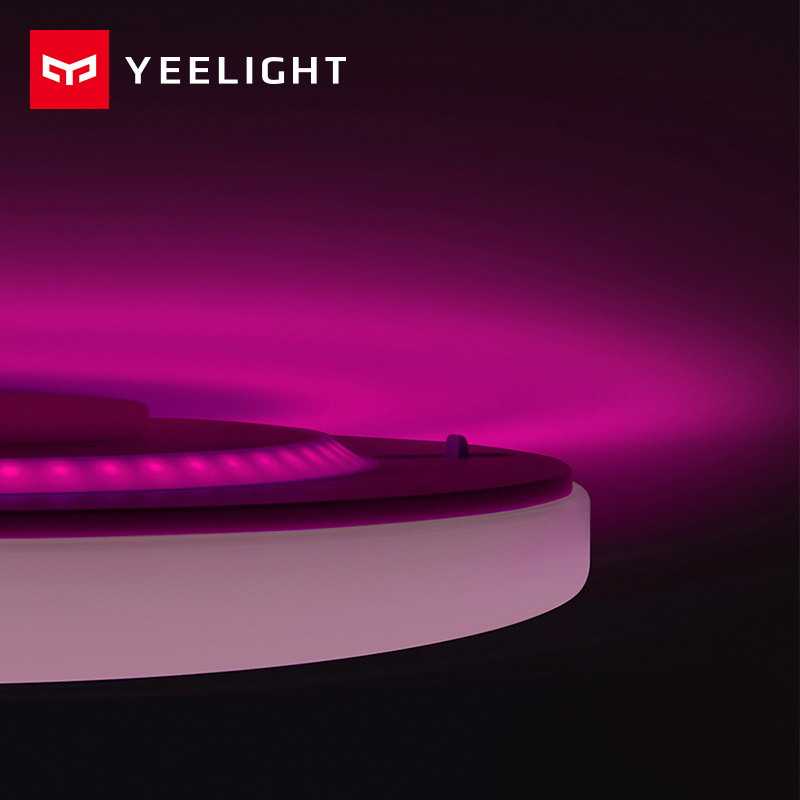 Image 2 - Xiaomi Yeelight Led ceiling Pro 650mm RGB 50W Mi home app control Google home For amazon Echo For xiaomi smart home kits-in Smart Remote Control from Consumer Electronics