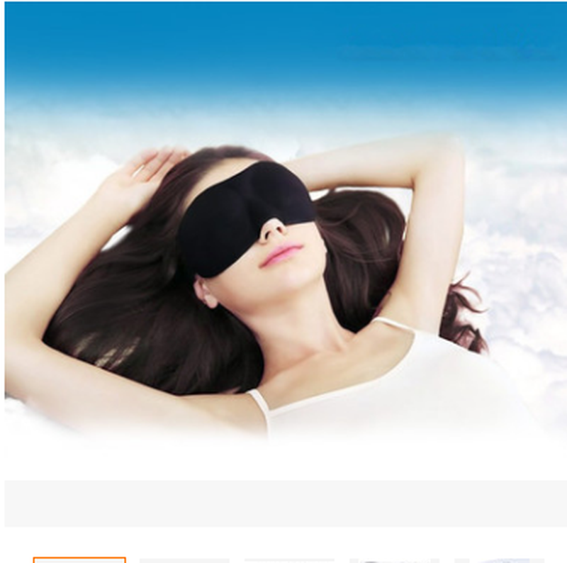 Eyeshade Travel Sleeping Eye Mask 3D Memory Foam Padded Shade Cover Sleeping Blindfold For Office Sleep Mask