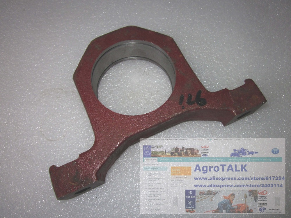 YTO 904 tractor, the driving shaft support, part number:4997310/1.38.538 yituo yto x554 x904 tractor the front head lights left right is different part number sz550 40 030a 1 or sz550 48 031a 1