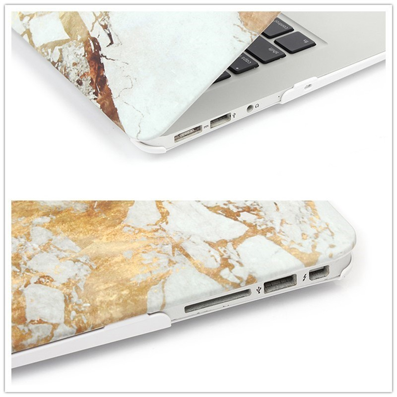 Image 5 - 2019 Tend Marble Case for MacBook Air 11 13 inch Full Cover Case for MacBook Pro 13 15 Retina 12 13 Hard Protective Funda A1990-in Laptop Bags & Cases from Computer & Office