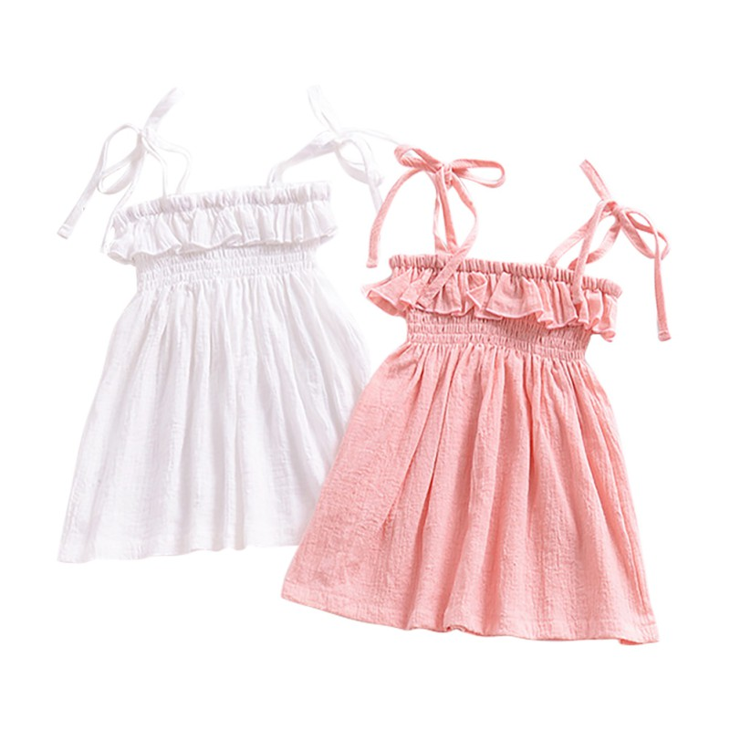 2018 Baby Girls Flower Girl Party Dress One Piece Swimsuit Lovely Cute Dress Sling Bikini Beach Wear bathing suits girls