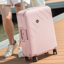 Travel tale portable and contracted PP 20/24/28 inches Rolling Luggage Spinner brand Travel Suitcase Fashion travel Luggage
