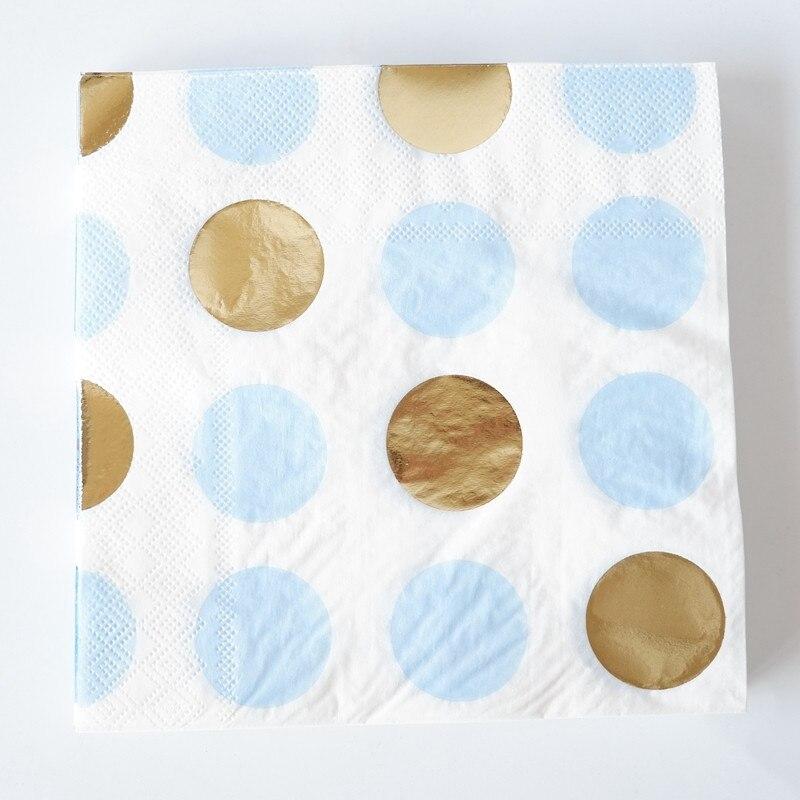 Aliexpress.com : Buy Blue And Purple Paper Napkins 100