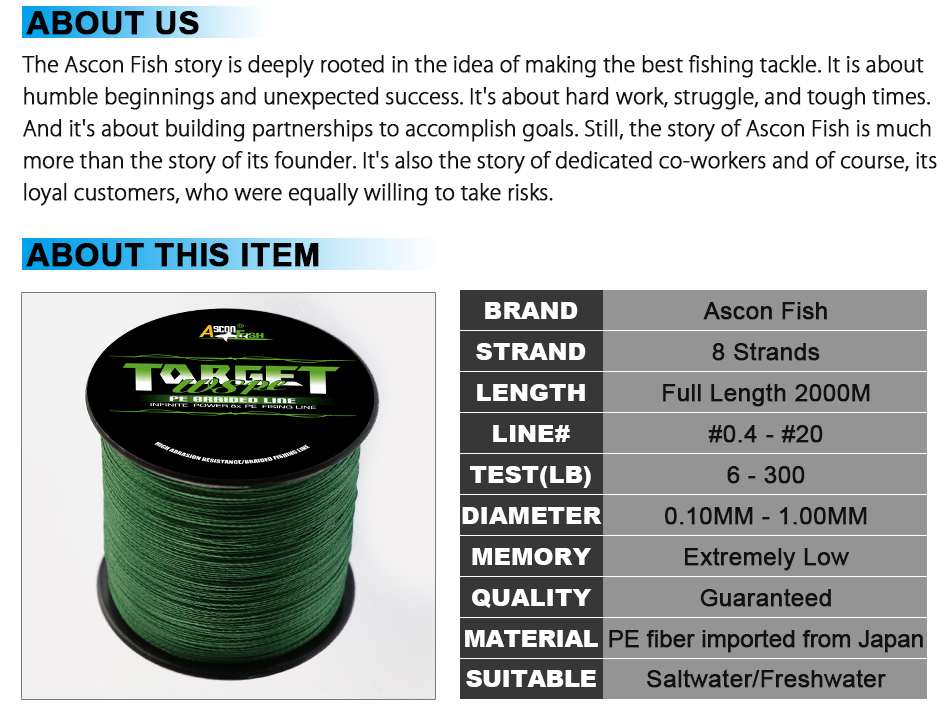 Cheap fishing lines 8