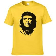 Летняя мода Че Гевара футболка для мужчин хлопок Прохладный Высокое качество печатных топы с короткими рукавами футболки#047