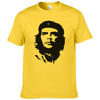 2016 Summer Fashion Che Guevara T Shirt Men Cool High Quality Printed Tops Short Sleeves Tees