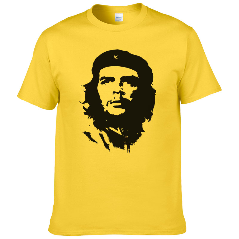 2016 Summer Fashion Che Guevara   T     Shirt   Men Cotton Cool High Quality Printed Tops Short Sleeves Tees #047