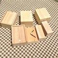 Personalización Caja de madera Zakka Caja De Almacenamiento De Madera Para Regalo En Festival de Hacer Su Caja de Estilo Se Puede Personalizar Cualquier Tamaño Con Logo