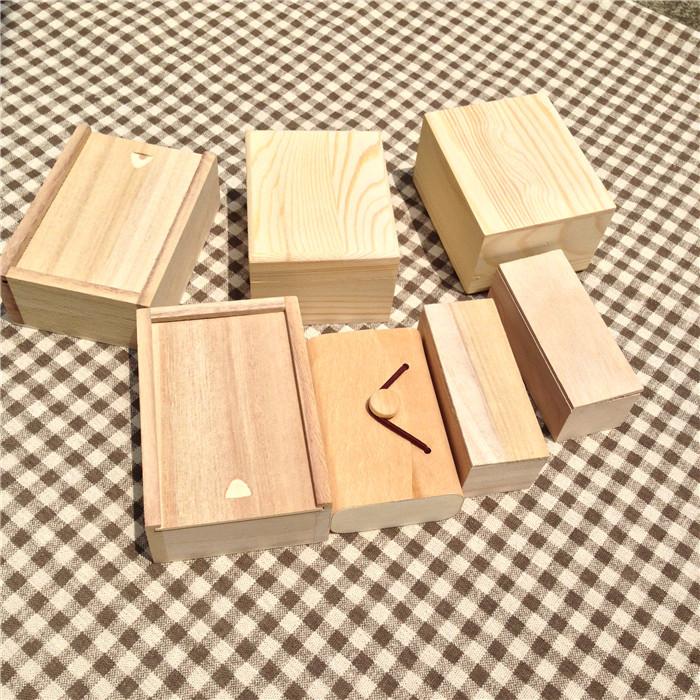 caja de madera zakka caja de de madera para regalo en festival de hacer