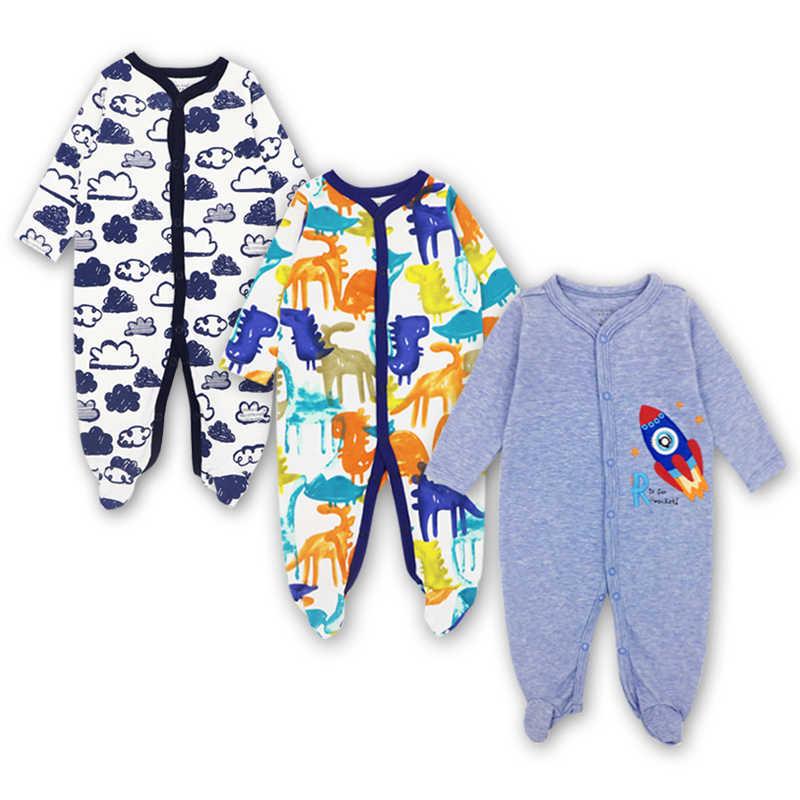 Mameluco de recién nacido, Mono para bebés y niñas, ropa para niños, ropa para dormir de manga larga, ropa para niños de 0 a 12 meses