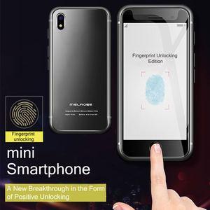 Image 1 - S9 Fingerprint Verbesserte Ultra Dünne Mini Student Smartphone Game Store Android 7.0 Quad Core Smartphone