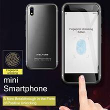 S9 empreinte digitale améliorée Ultra mince Mini étudiant Smartphone magasin de jeu Android 7.0 Quad Core Smartphone