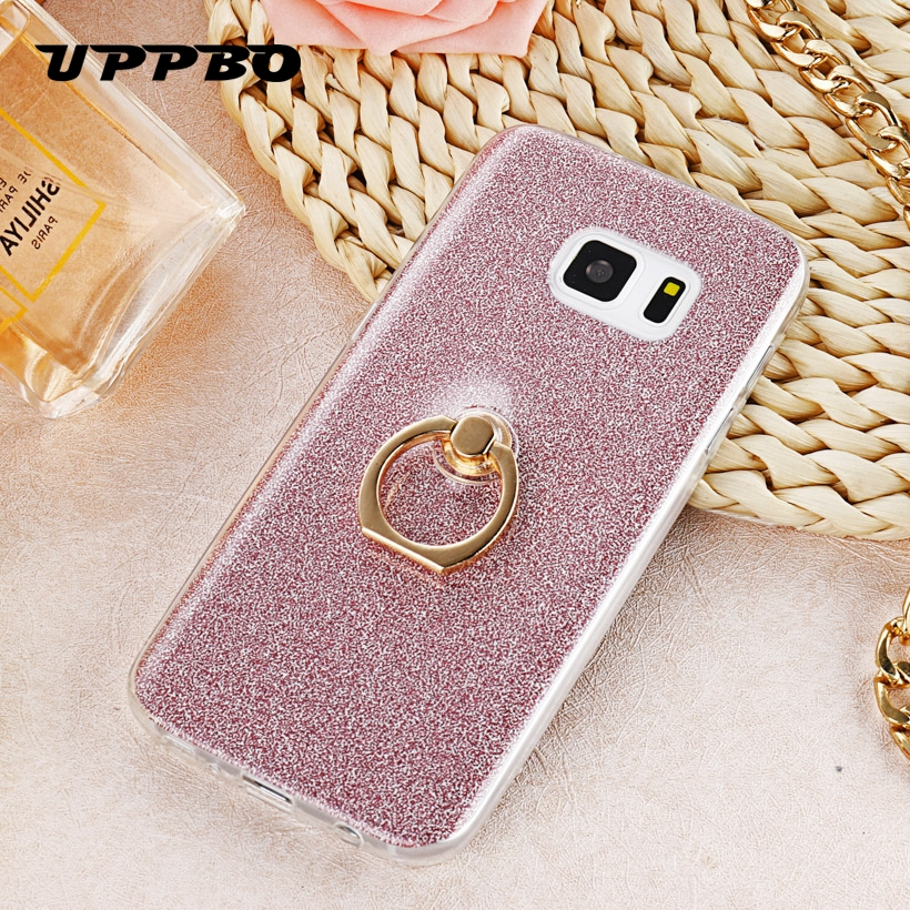 Half-wrapped Case Bling Case For Samsung Galaxy S7 Glitter Stars Dynamic Quicksand Liquid Silicone Phone Cover Sm-g930f Sm-g930fd Soft Cases Funda Phone Bags & Cases