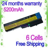 Black 6 Cells Laptop Battery FOR LENOVO G550 G555 N500 V450 V460 3000 G430 IdeaPad B460