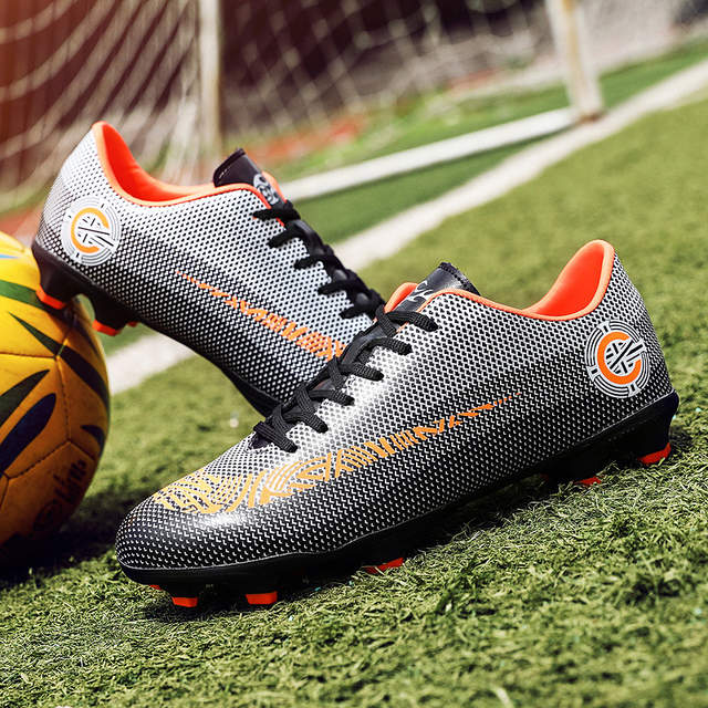 355fcecffff placeholder 2018 Men Football Boots Superfly Original Messi Soccer AG Cleats  CR7 TF Hard Court Trainers Soccer