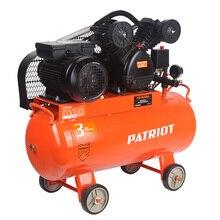 Компрессор электрический PATRIOT PTR 50-450A (Ременный привод, давление 10 атм, мощность 2200Вт)