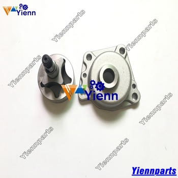 FOR Mitsubishi S4S Oil Pump 32A35-10010 32A35-00010 For Mitsubishi  FD20 FD25 FD30 FD35 Forklifts S4S Diesel Engine Spare Parts