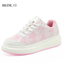 Fast Shipping Women's Fashion Platform Shoes Flat Walking Shoes Tenis Femininio Casual Shoes For Women Trainers Superstar Shoes