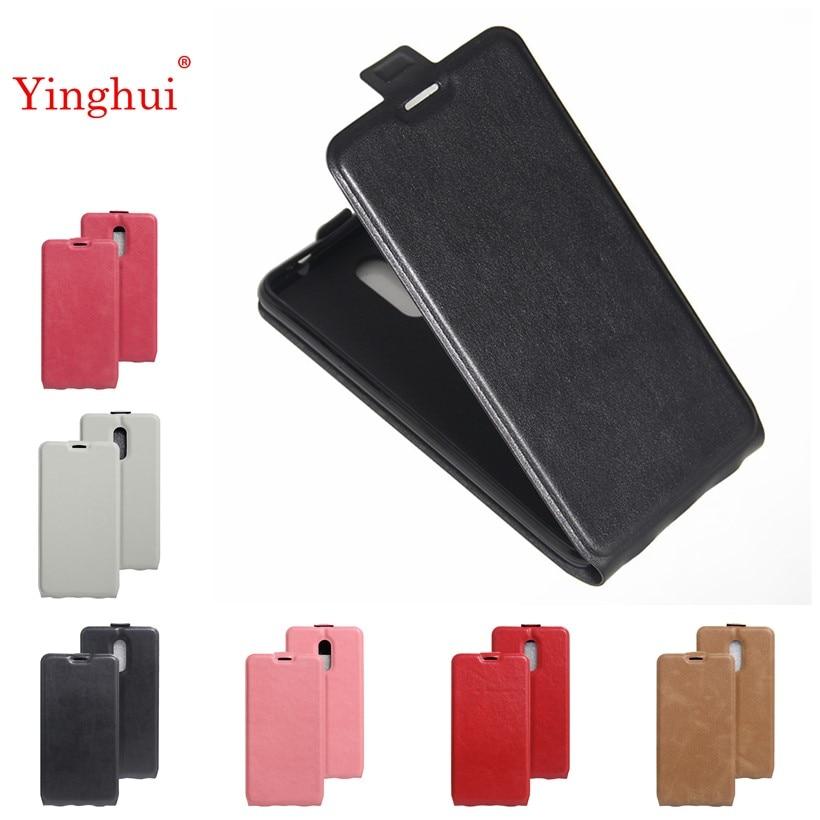 Untuk Xiaomi Redmi pro Kasus Telepon Vertikal Kasus Untuk Xiaomi Redmi Catatan 4 Redmi note 4 pro Hight Kualitas Kulit penutup