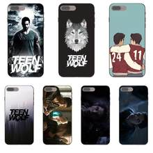 Scott Mccall Teen Wolf Covers TPU Capa Para Apple iPhone 4 4S 5 5S SE 6 6 S 7 8 mais X XS Max XR(China)