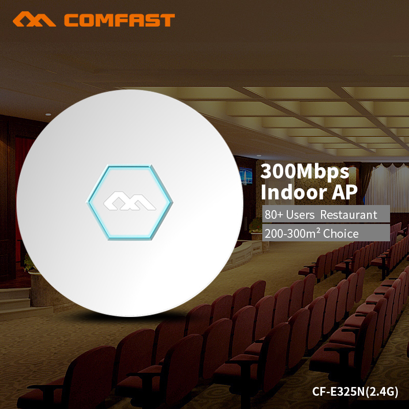 COMFAST Ceiling Wifi Router 300Mbps Wireless Wi-fi Router Access Point Hotel Restaurant Coverage Support OpenWRT ddwrt CF-E325N wi fi роутер mi router 3