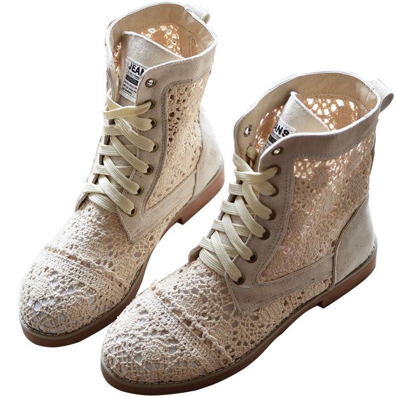 Chaussures bottes rétro enfants 2018 nouvelles bottes Cool été chaussures romaines plat étudiant Martin bottes