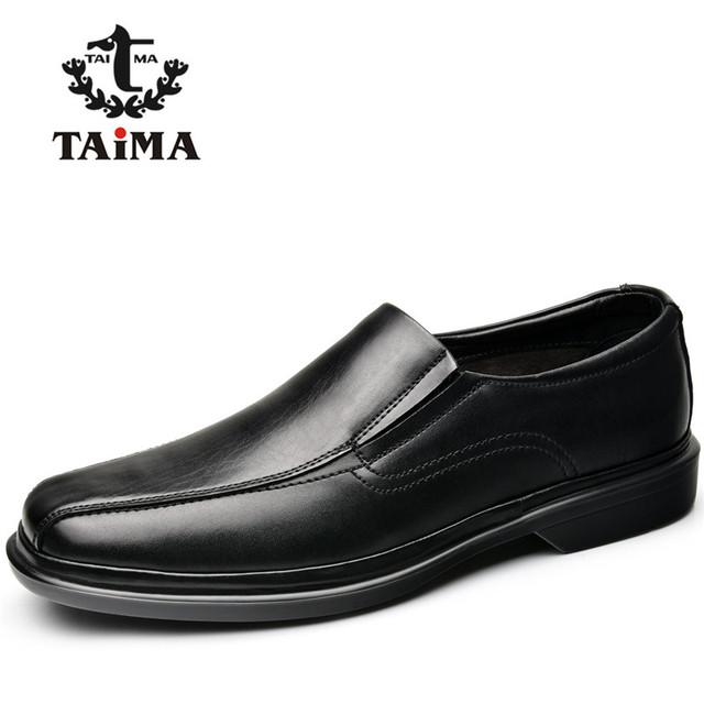 TAIMA Marca Moda Hombres Zapatos Planos Con Zapatos Casuales Hombres Mocasines Mocasines Zapatos de Conducción Cómoda Clásica Más El Tamaño 40-48