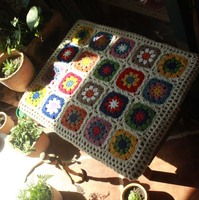 DIY Craft Handmade 3D thicken sofa mat Tea Ceremony Hand hooked fashion crochet blanket cushion felt pastoral style 50*40cm