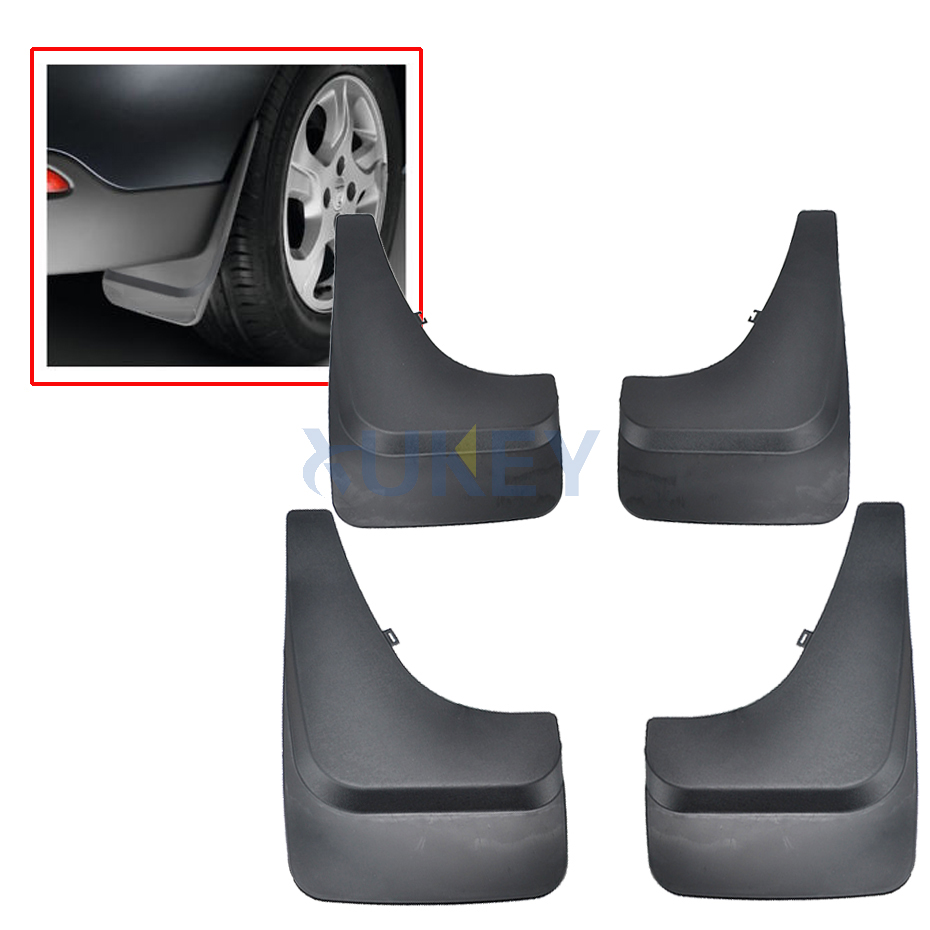Image 5 - 4Pc Large Pickup Mud Flaps Pick up Van Mudguards Splash Guards For Ford F Series Ranger Bronco Chevy Suburban Silverado Colorado-in Mudguards from Automobiles & Motorcycles