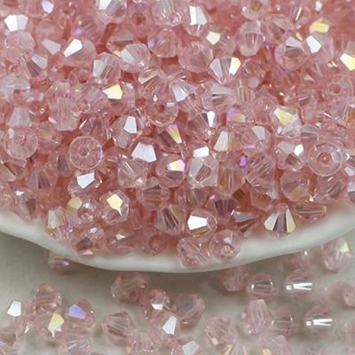BEAUCHAMP 4 мм хрустальные бусины форма биконуса камень ювелирных изделий кисточкой Лариат серьги стекло кварцевые Амулеты Браслет аксессуары
