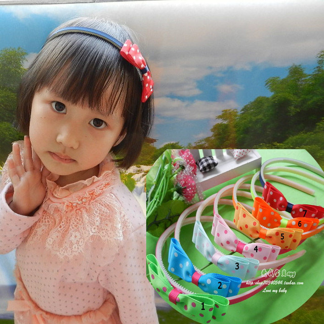 Free shipping children hair accessory  The butterfly shape baby hairbands wholesale and retail