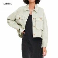 2019 Autumn Winter Denim Jacket Women Jeanns Jacket Casaco Feminino