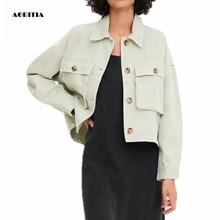 2019 Autumn Winter Denim Jacket Women Jeanns Jacket