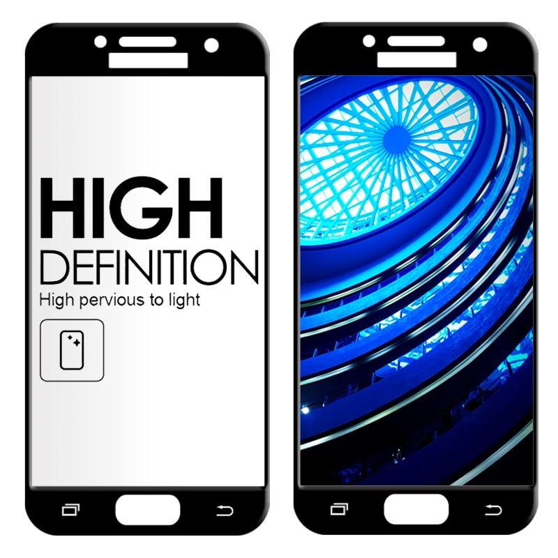 Samsung Galaxy J2 J5 J7 Prime 9H ekran qoruyucu üçün Galaxy Cover - Cib telefonu aksesuarları və hissələri - Fotoqrafiya 4