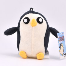 12-15cm Adventure Time Plush Keychain Toys Finn Jake Penguin Gunter Beemo BMO Soft Stuffed Animal Dolls Pendant Party Supplies(China)