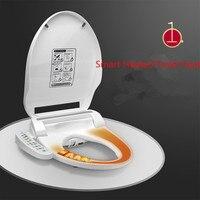 Смарт с подогревом сиденье для унитаза Instant Hot Тип WC Sitz Intelligent автоматическая крышка туалета крышка Электрический биде крышка без резервуар