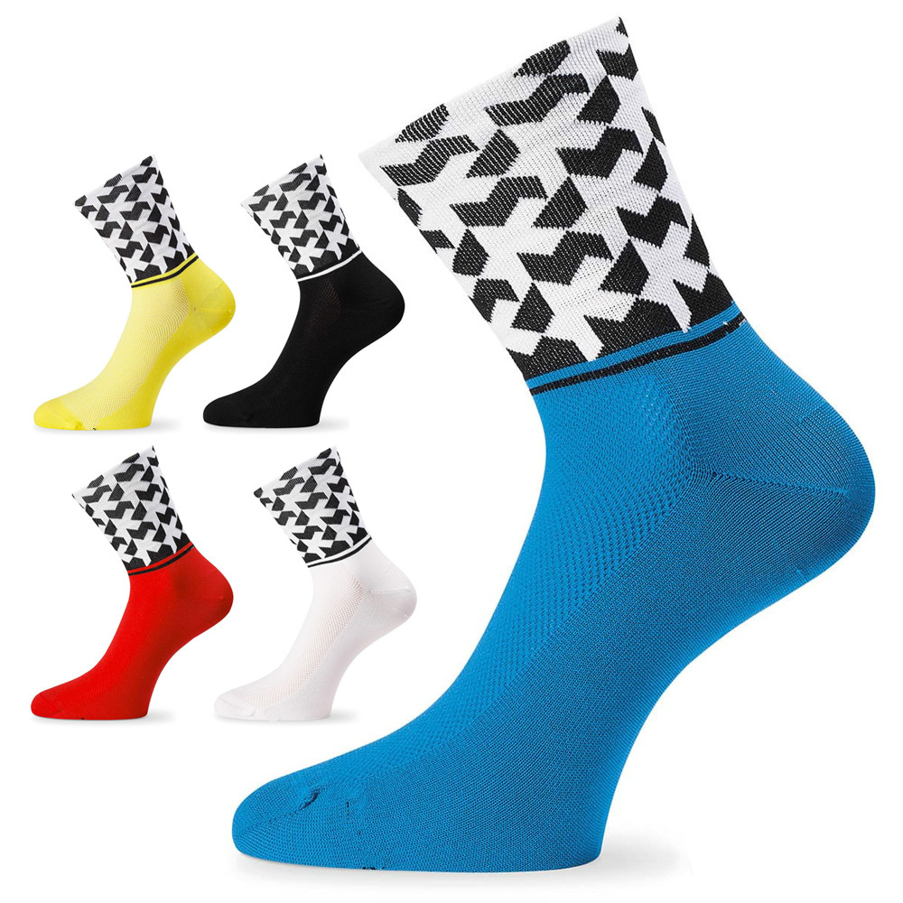 Cycling Socks Men Women Bicycle Sock Running Athletic Riding Bike Compression Socks