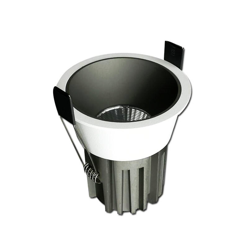 16PCS/LOT COB LED Downlight Ceiling 5W 10W 12W 15W 18W Warm White/cold White LED Light AC 220V 230V 240V